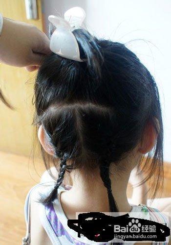 小女孩可爱发型适合方法图解35岁左右绑扎的发型短发图片