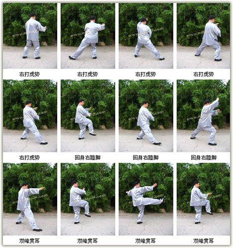 二十四式简易太极的学习方法图片