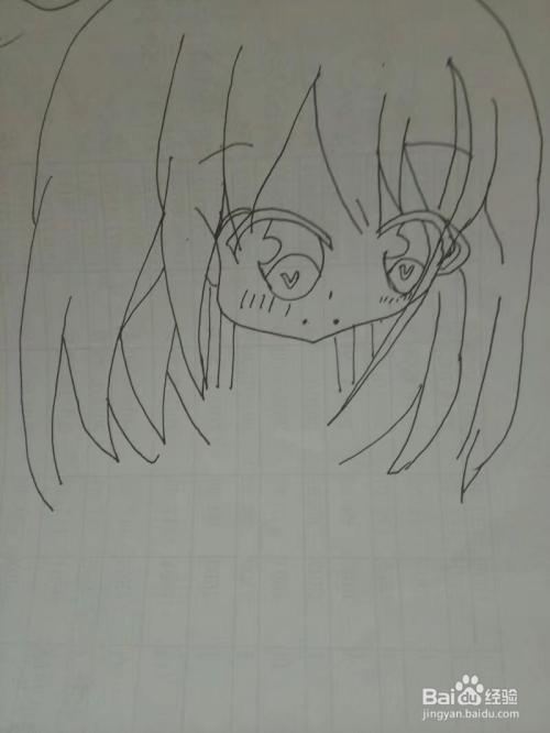怎样简单画好动漫美少女呢?
