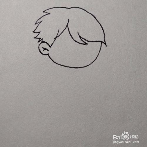 怎么画一个正在跳绳的小男孩卡通儿童简笔画?