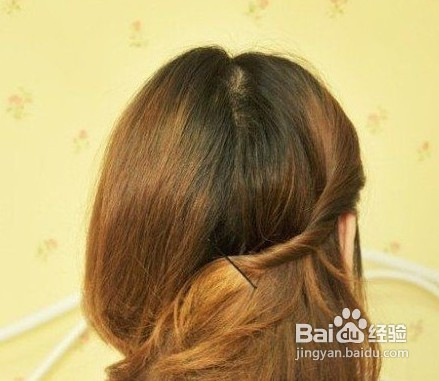 短发盘发发型步骤分析图片