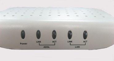 adsl modem的test指示灯常亮不止