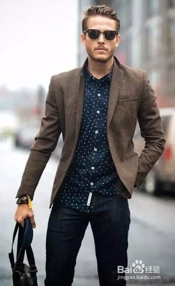 男士春季商务与休闲装的时尚搭配图片