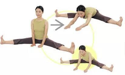 瘦腿!几个不错的瑜伽动作瘦腿吃减肥法糖图片