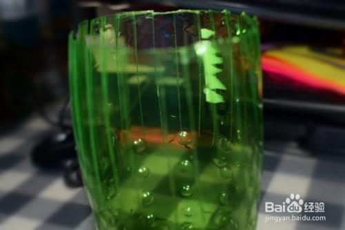 环保达人#如何用雪碧瓶做花瓶 塑料瓶做笔筒