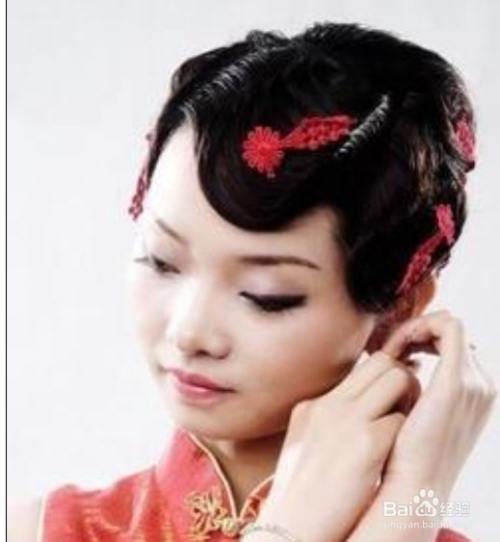中式新娘妆发型有哪些?图片