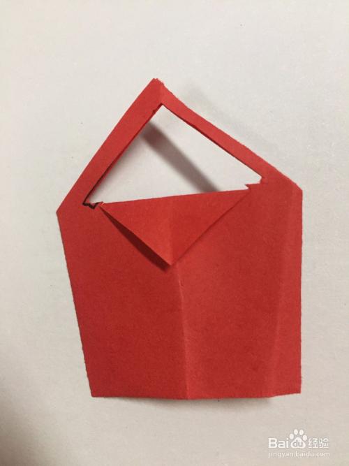 亲子手工折纸手提袋的折法图片