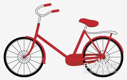 用adobe illustrator绘制自行车图片