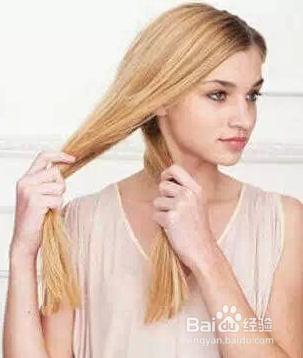 怎么编双节侧马尾发型图片