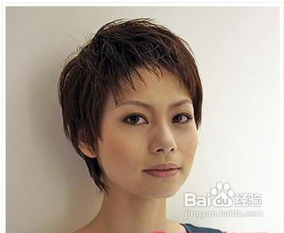 头发少的人适合什么发型图片