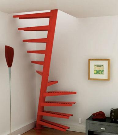 生活/家居 家具装修 > 装修  4 迷你型的楼梯结构非常紧实,即使没有足