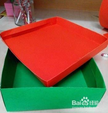 手工制作漂亮个性的礼物盒教程图片