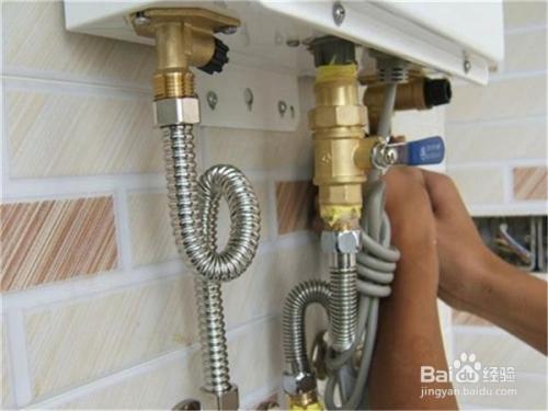 燃气热水器维修方法图片