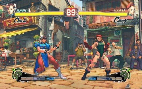 《超级街霸4》游戏画面设置图片