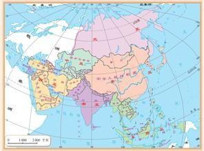 亚洲地形囹�b���_下面让我们一起来学习亚洲地形与气候. 百度经验:jingyan.baidu.
