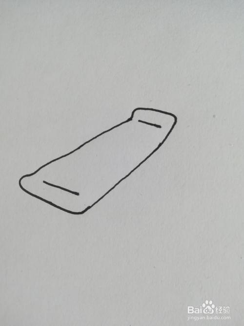 滑板车的简笔画怎么画,滑板车简笔画