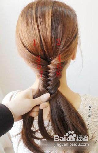 韩式淑女发型编发盘发教程图片