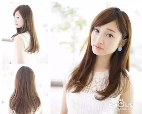 中长发女人弄什么发型最好看呢?图片