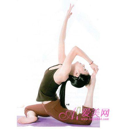 怎样练鸽子式瑜伽动作?图片