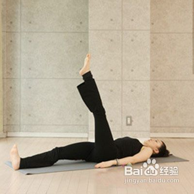 瘦腿最快的瘦腿仰卧伸展方法动作瑜伽怎么减后大腿上的肉肉图片