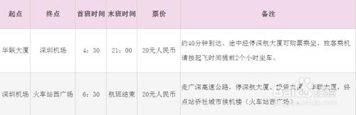 州到深圳大巴票价_深圳机场大巴时刻表2015年(含票价)