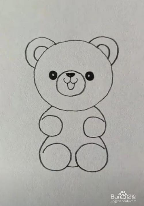 com 方法/步骤 1 我们现在纸上画一个圆,也就是0数字了.图片