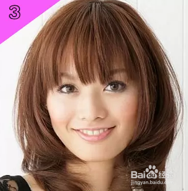 女生什么发型显脸小图片