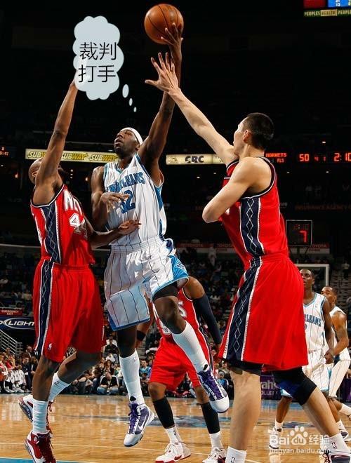 打篮球怎么样盖帽?图片