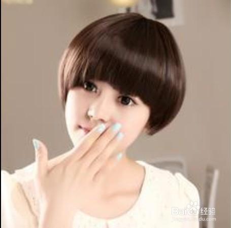 蘑菇头短发发型哪种好看?
