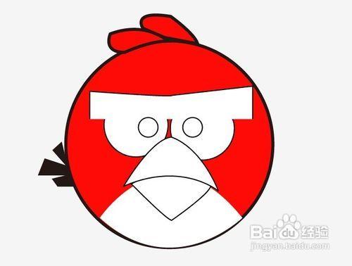 愤怒的小鸟简易制作图片