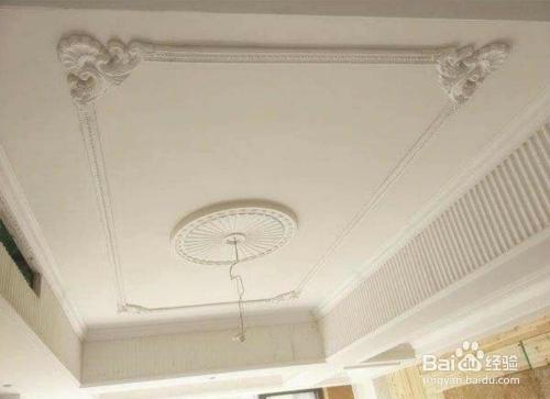 石膏线吊顶和石膏吊顶如何抉择?