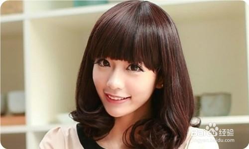 女生烫染哪款头发能显得脸小图片