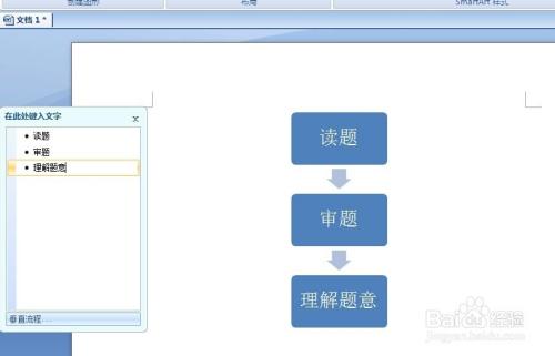 软件  1 打开word,点击插入,选择smartart 2 选择我们要绘制的流程图.图片