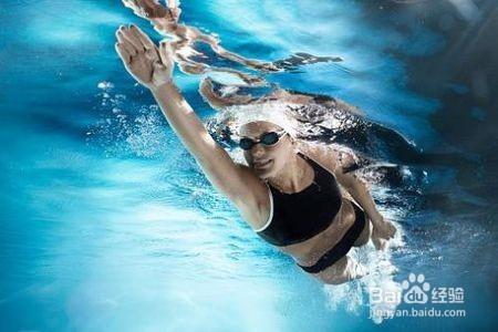 2 裝備 初學者切記必須佩戴泳鏡和泳帽,對于自己游泳技術的提高非常圖片