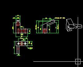 标注CAD尺寸在v尺寸后解决的户型线跑掉图纸平米小30cad图片