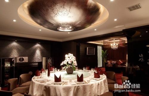 美式会馆餐厅灯具方案图片