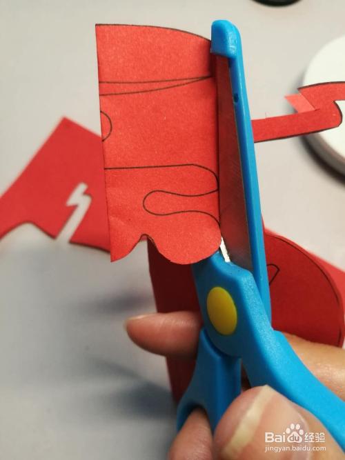 儿童趣味剪纸:财神剪纸图片