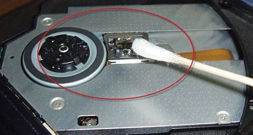 笔记本光驱不读盘的应急处理方法