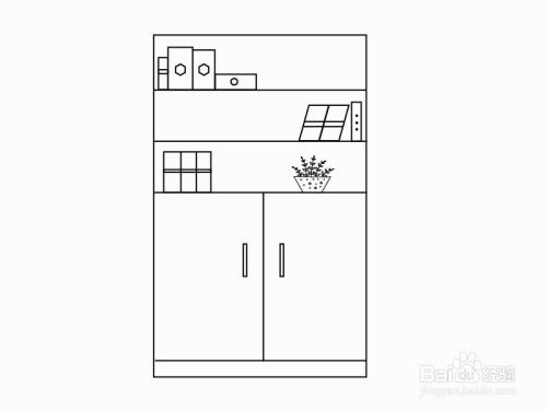 柜子的簡筆畫怎么畫圖片