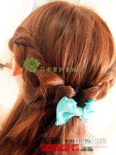 夏季最简易长发发型扎法教程做少女风编发图片