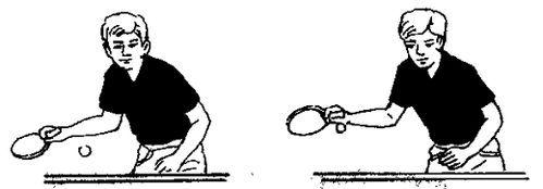 教你乒乓球板球攻球技术北京正手图片欣赏图片