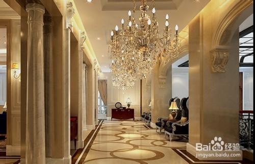家具装修 > 装修  1 会所大厅欧式复古吊灯 2 会所台球室玻璃管水晶
