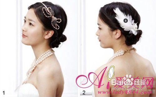 新娘发型怎么扎教你简易diy教程图解图片