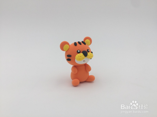 罗弗超轻粘土手工教程系列——十二生肖——老虎