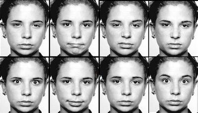 常见微表情识别方法图片