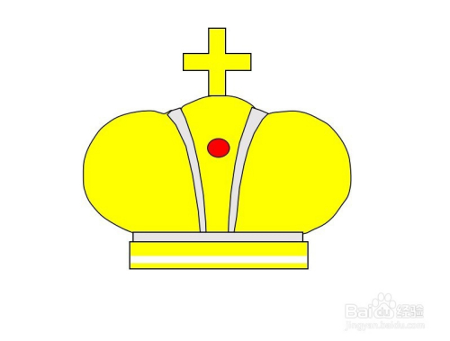 怎么画皇冠的简笔画