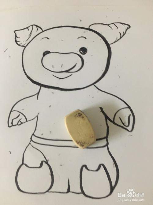 2019猪年来了 猪宝宝简笔画 猪的儿童画图片