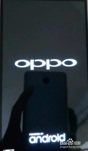 oppo r7 plus系统提示升级,更改系统画面及字体 升级之后就开不开机图片