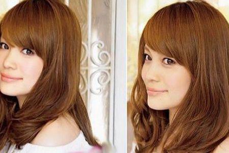 金铜色头发图片效果图
