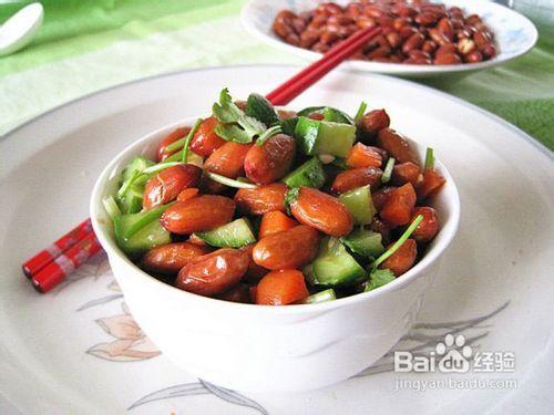 丝瓜花生黄瓜干贝菜谱-做法孕妇拌家常香菜凉菜汤大全图片